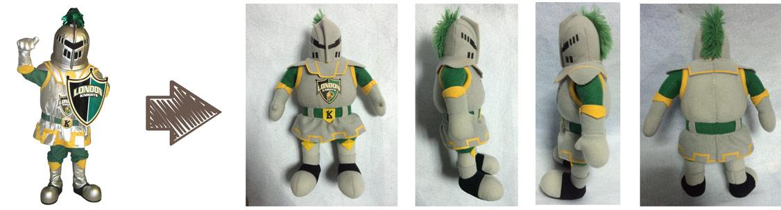 custom plush mascots