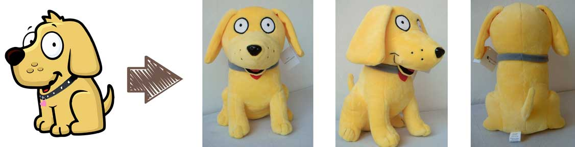 custom plush toys - retail
