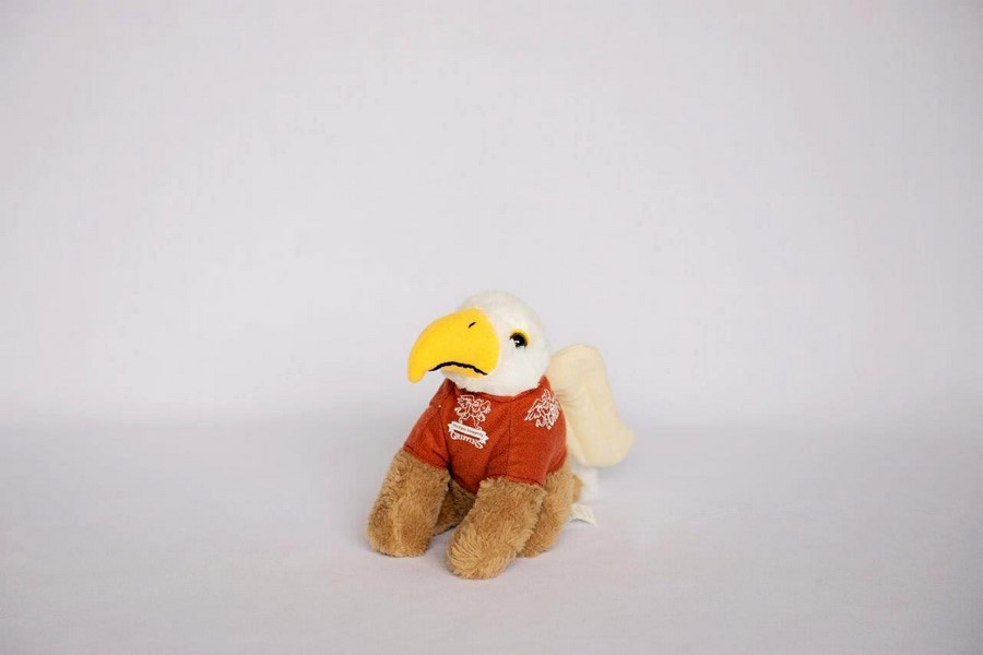 Custom Plush Toy -MacEwan University