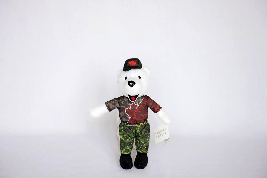 Custom Plush Toy -Canada Army Run
