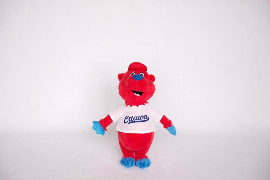 Custom Plush Toy -Ottawa Championship Baseball Team
