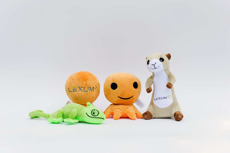 Branded Custom Plush Toys -Lexum