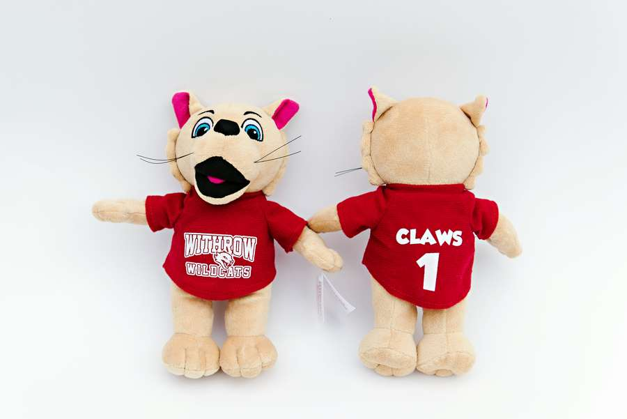 Withrow Wildcats - Branded Custom Plush Team Mascots