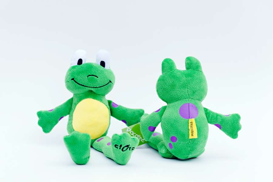 Branded Custom Plush Frog -Placotine