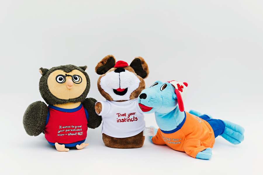 Custom Plush Toys for Safety Messages - C.C.C.P.