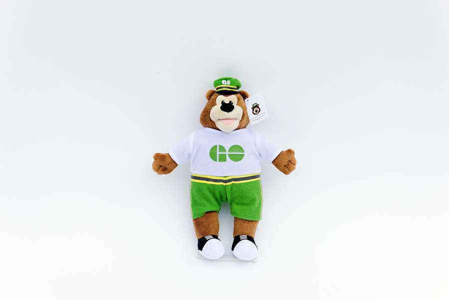 Branded Custom Plush Toy for Corporate Promotions -GO Bear