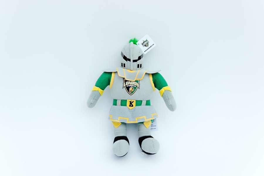 London Knights Custom Plush Toy -Scorezy
