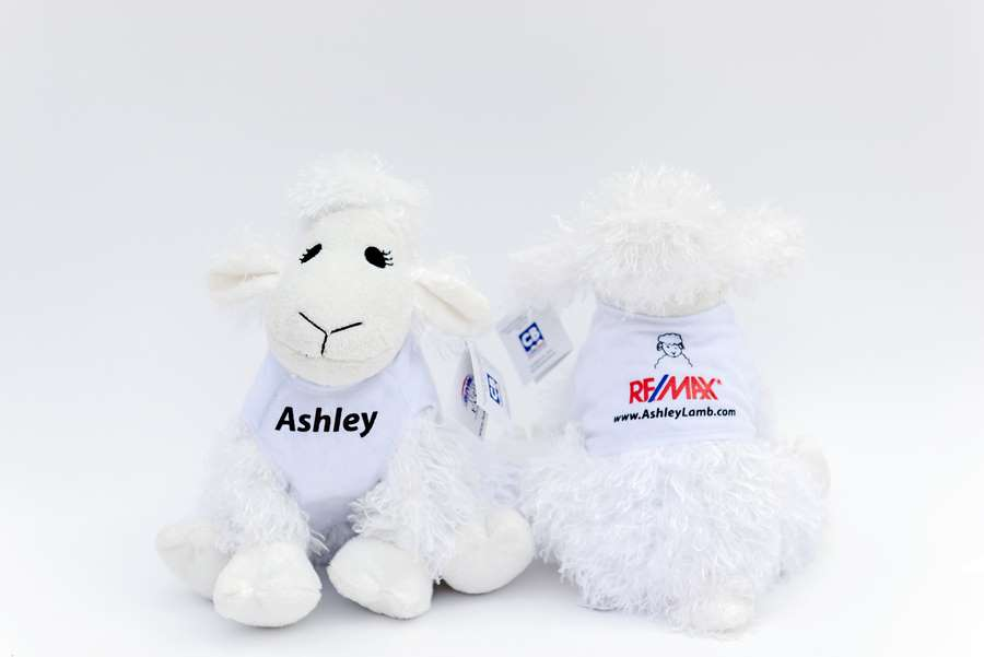 Branded Custom Plush Lamb Toy -Remax