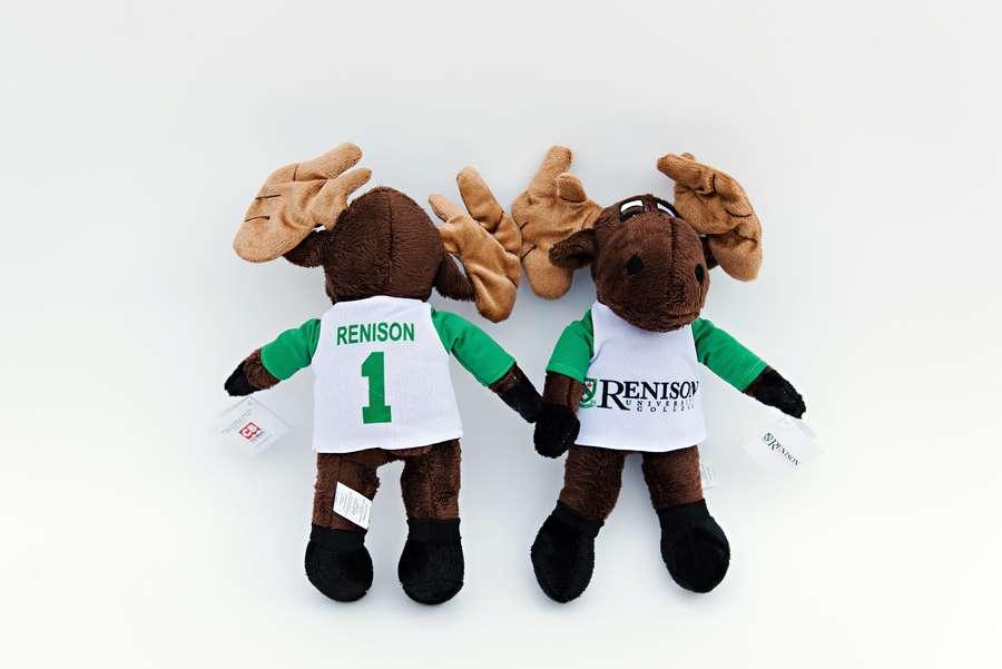 Branded Custom Plush Moose Toy -Renison