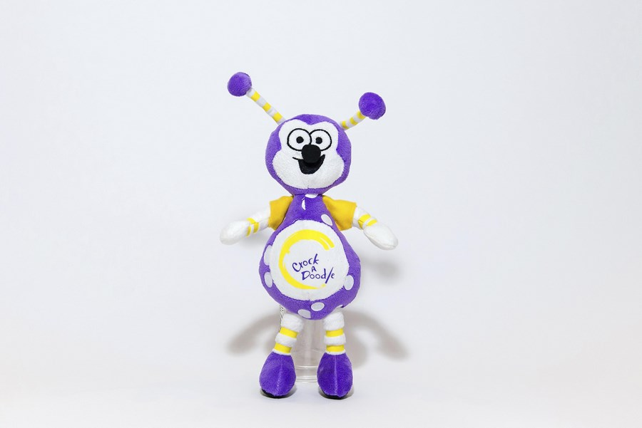 Branded Custom Plush Toy - Crock A Doodle Bug