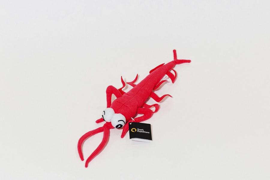 Branded Custom Plush Toy Crawfish- Quark Expeditions