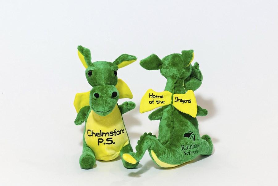 Custom Plush Mascot - Dragon