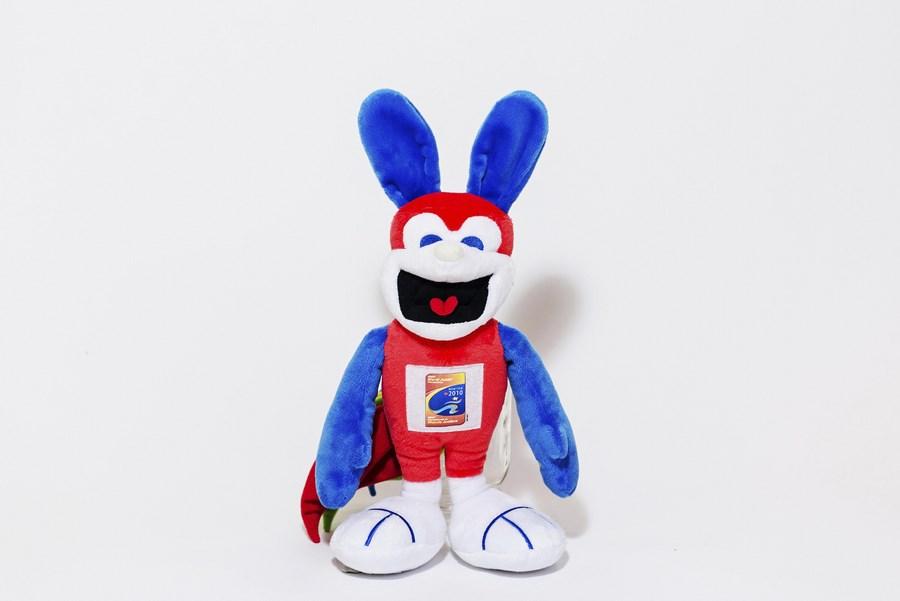 Custom Plush Mascot Toy - Sporti