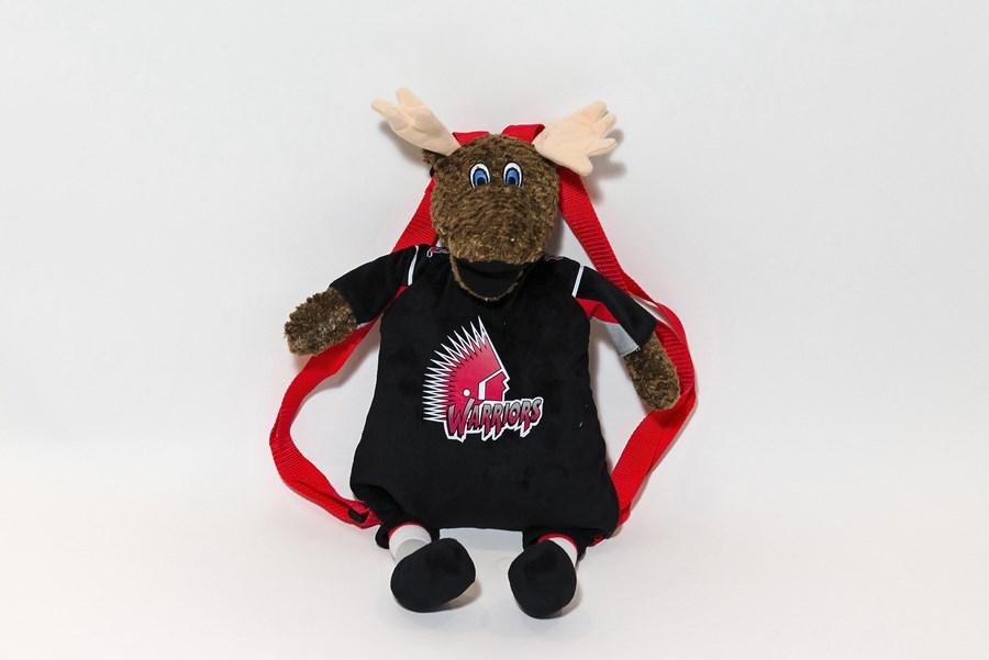 Branded Custom Plush Backpack -Moose
