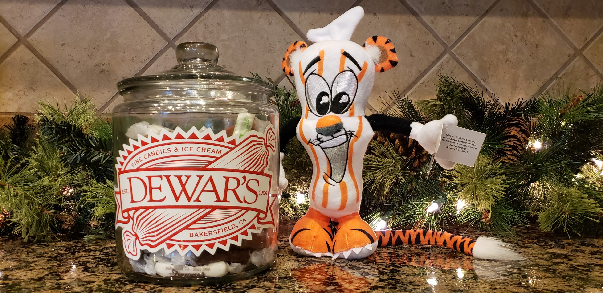 Dewars Candy custom plush