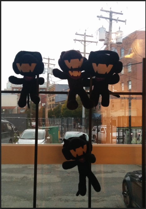 Monstercat custom plush