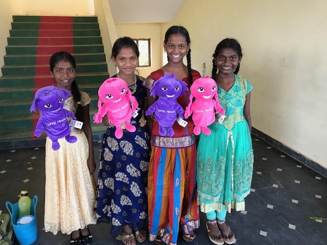 Little Miralces custom made puppet