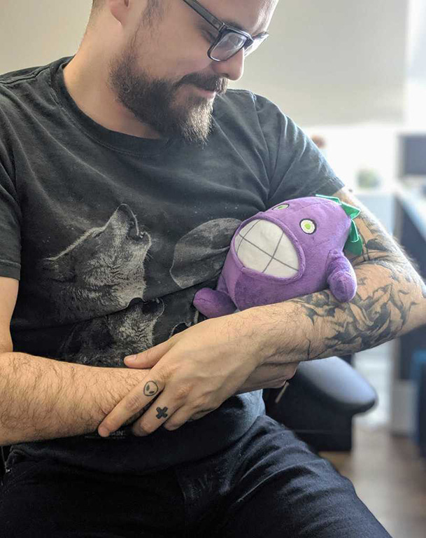 Outerminds custom made puppet