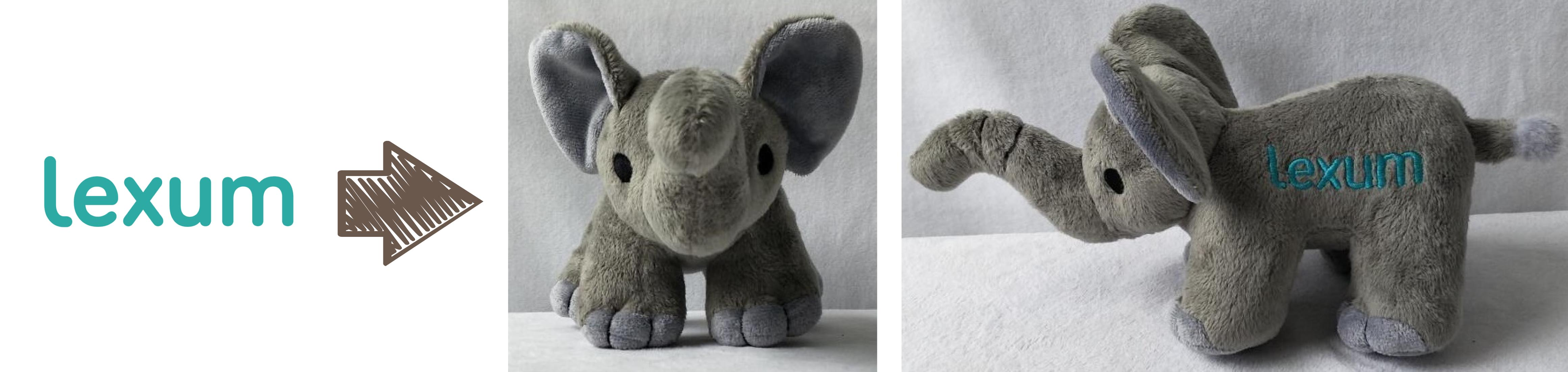 Lexum promotional stuffed animal
