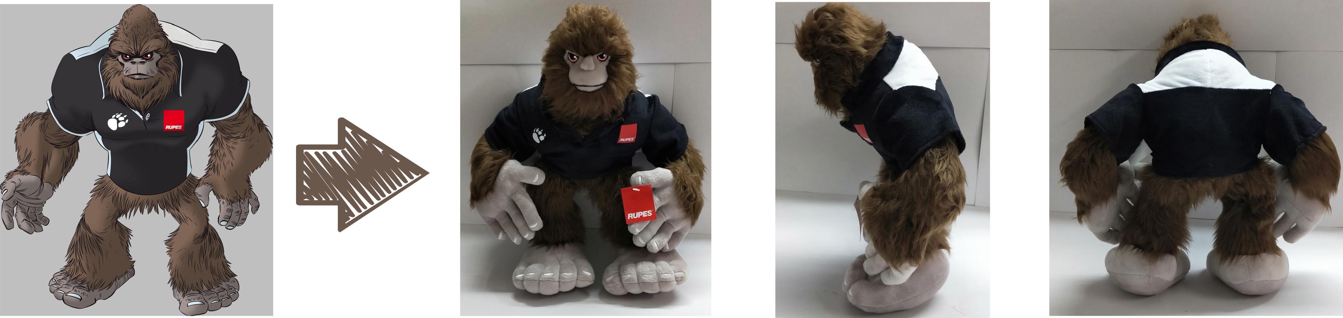 Rupes USA Inc promotional stuffed animal
